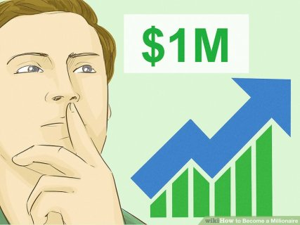 Image result for How to become a millionaire in simple steps?