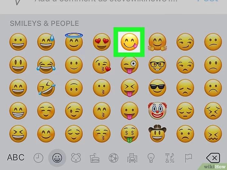 3 Cara Untuk Memasukkan Emoji Di Instagram Wikihow