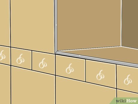 how to finish tile edges with pictures