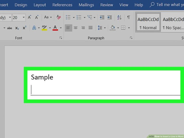 25 Ways to Insert a Line in Word - wikiHow