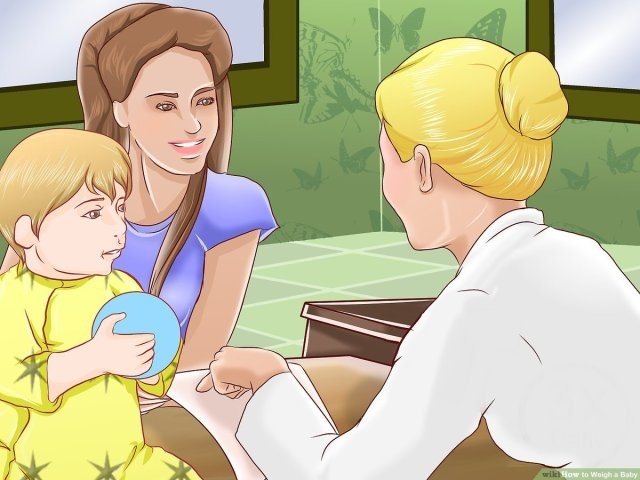 12 Ways to Weigh a Baby - wikiHow Mom