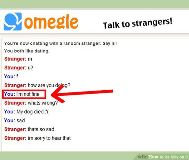 Image Titled Be Silly On Omegle Step