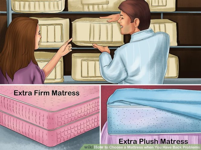 Image Led Choose A Mattress When You Have Back Problems Step 1
