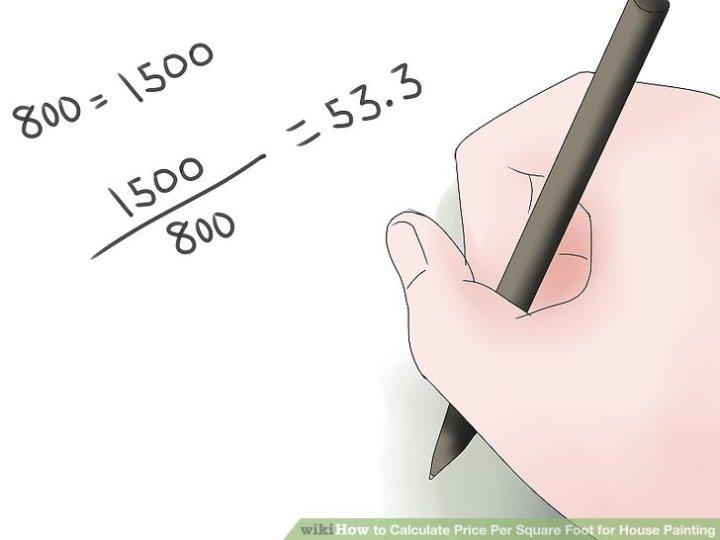 Paint Coverage Calculator Interior
