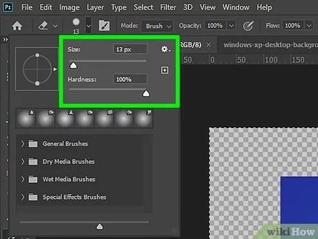 4 Ways To Add Transparency In Photoshop Wikihow