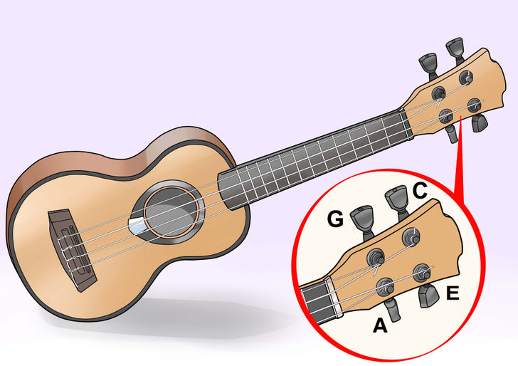 How to Tune a Ukulele (with Pictures) - wikiHow