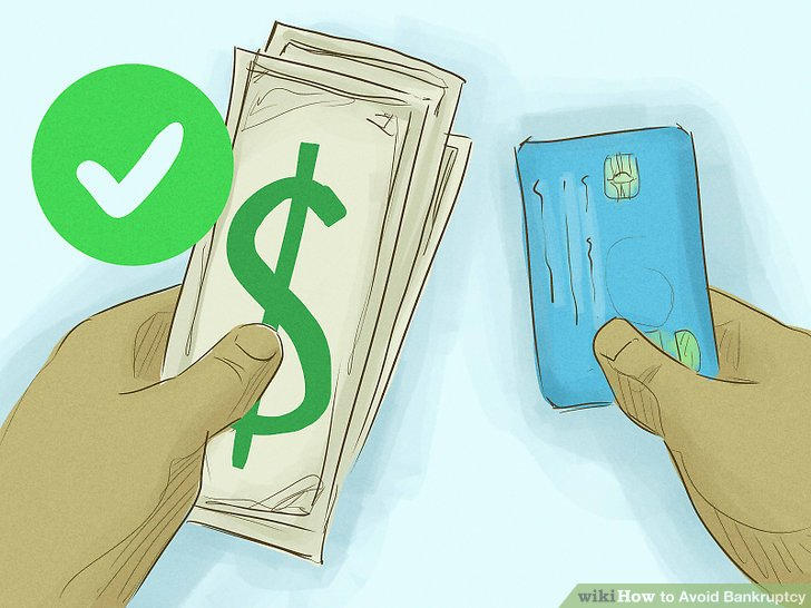 Image result for How to avoid bankruptcy every month in 7 steps