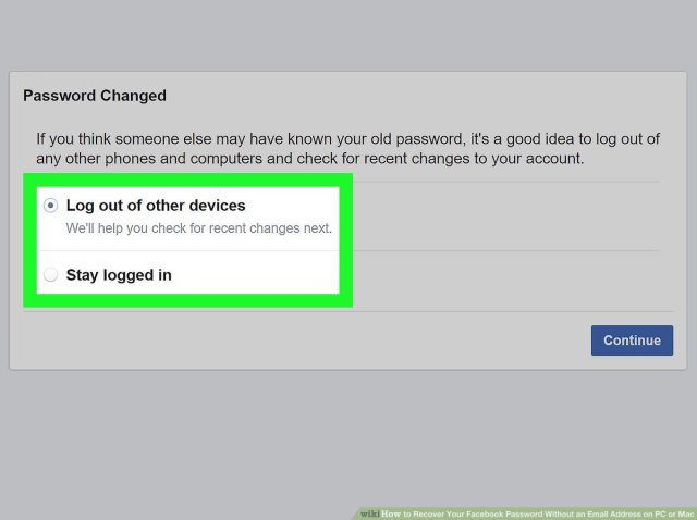 How to Recover Your Facebook Password Without an Email Address on