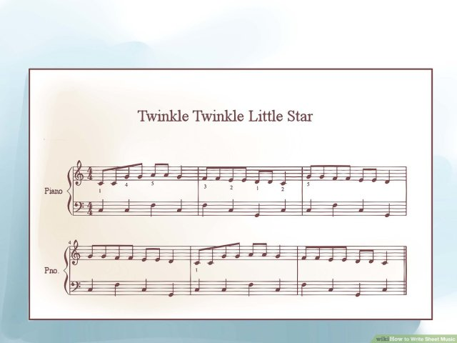 How to Write Sheet Music: 18 Steps (with Pictures) - wikiHow