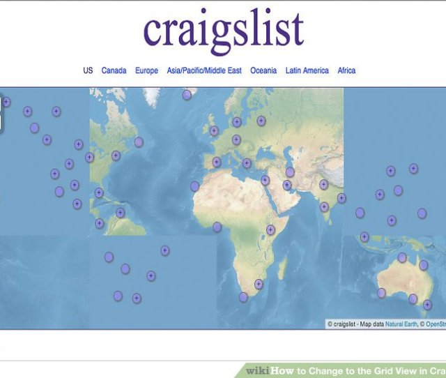 Image Titled Change To The Grid View In Craigslist Step
