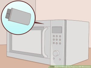How to Change the Fuse in a GE Microwave (with Pictures)  wikiHow