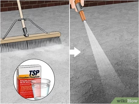 How To Paint Concrete 10 Steps With Pictures Wikihow   Painting Outdoor Concrete Steps   Behr Premium   Epoxy   Front Porch   Deck   Slip Resistant