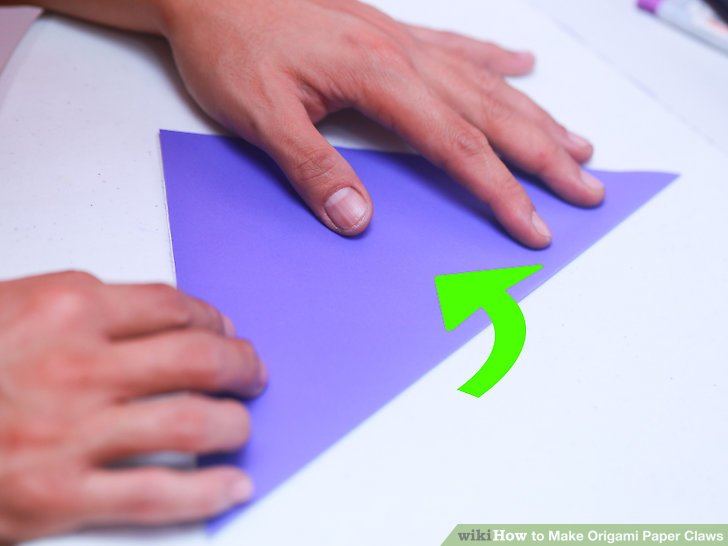 Image Led Make Origami Paper Claws Step 12