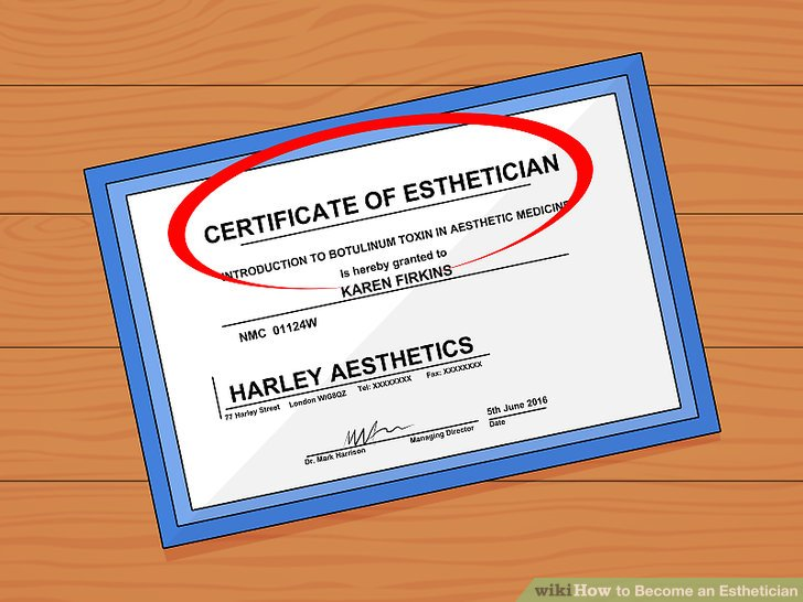 How To Become An Esthetician With Pictures Wikihow