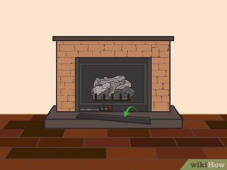 3 ways to light a gas fireplace