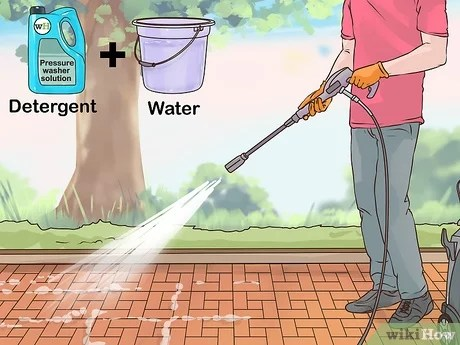3 ways to clean a brick patio wikihow