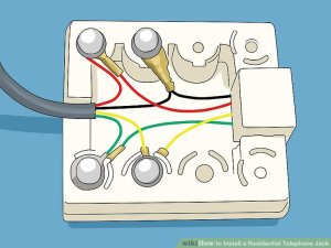 How to Install a Residential Telephone Jack (with Pictures)
