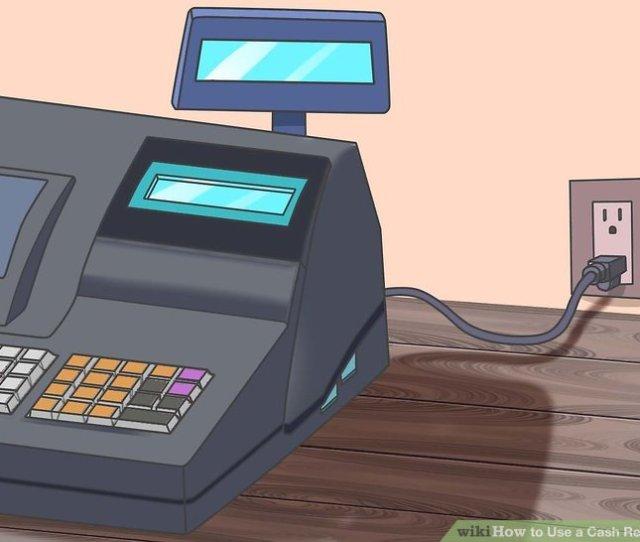 Image Titled Use A Cash Register Step 1