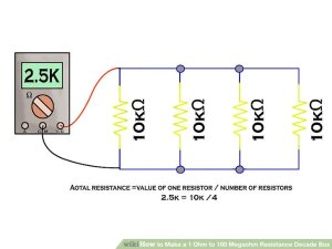 How to Make a 1 Ohm to 100 Megaohm Resistance Decade Box: 11 Steps
