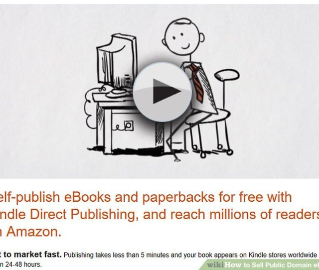 Imageled Sell Public Domain Ebooks Step