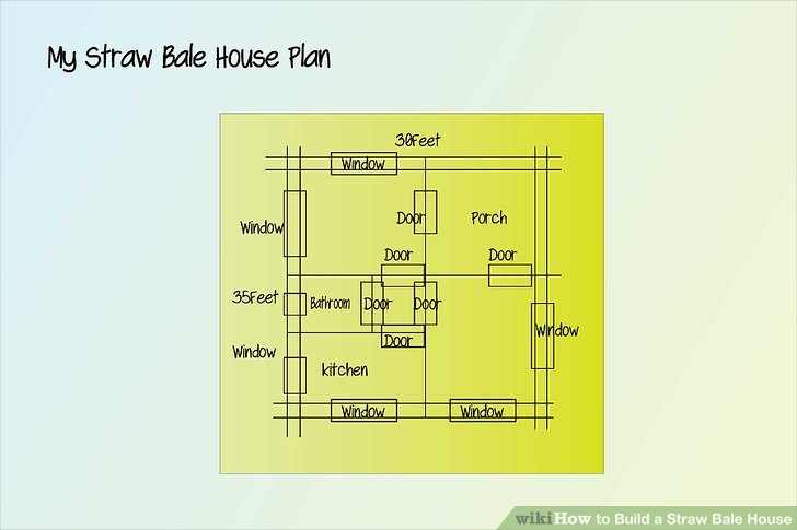 How To Build A Straw Bale House 9 Steps With Pictures
