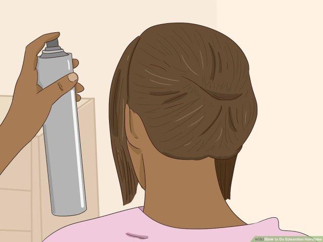 3 ways to do edwardian hairstyles - wikihow