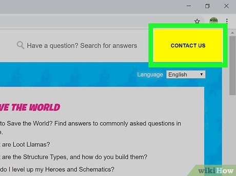 How to Contact Epic Games: 10 Steps (with Pictures) - wikiHow
