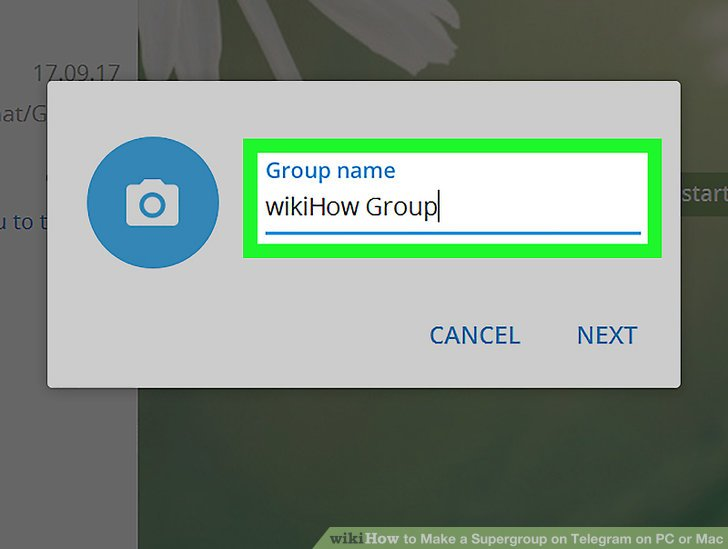 Make a Supergroup on Telegram on PC or Mac Step 4.jpg