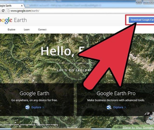 Image Titled Use Google Earth Step 1