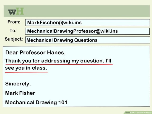 How to Email a Professor (with Pictures) - wikiHow