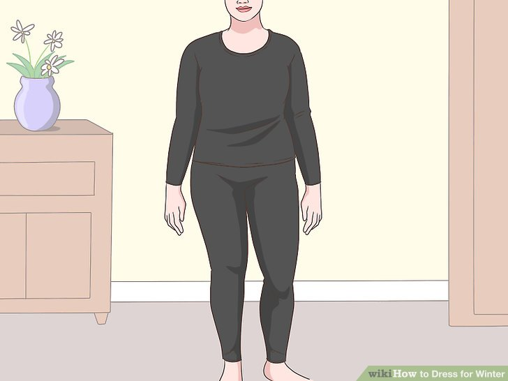 How to Dress for Winter  with Pictures    wikiHow Image titled Dress for Winter Step 1