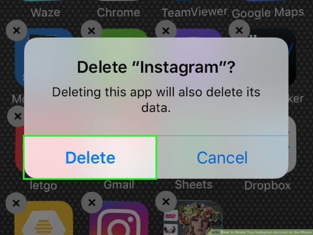 How to Delete Your Instagram Account on the iPhone (with Pictures)