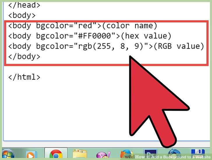 Color Html Codes Bgcolor