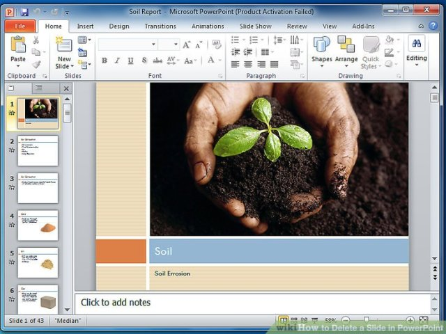 How To Delete A Slide In PowerPoint 7 Steps With Pictures Image Titled