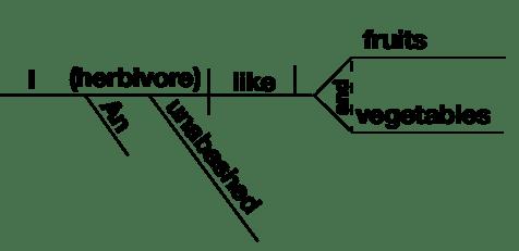 Image result for sentence diagram illustration