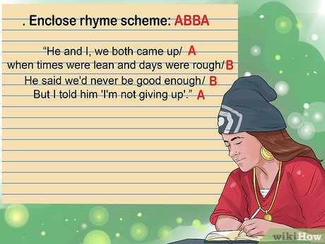 How to Write Rap Rhymes: 15 Steps (with Pictures) - wikiHow