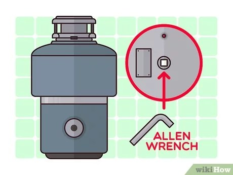 how to fix a jammed garbage disposal