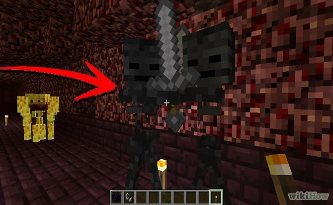 Minecraft Wither Skeleton Boss