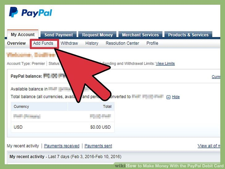 how to make a fake paypal account with money