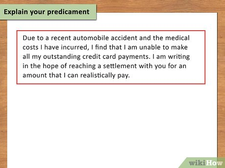 Credit card settlement
