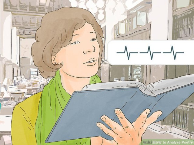 How to Analyze Poetry  with Pictures    wikiHow Image titled Analyze Poetry Step 2