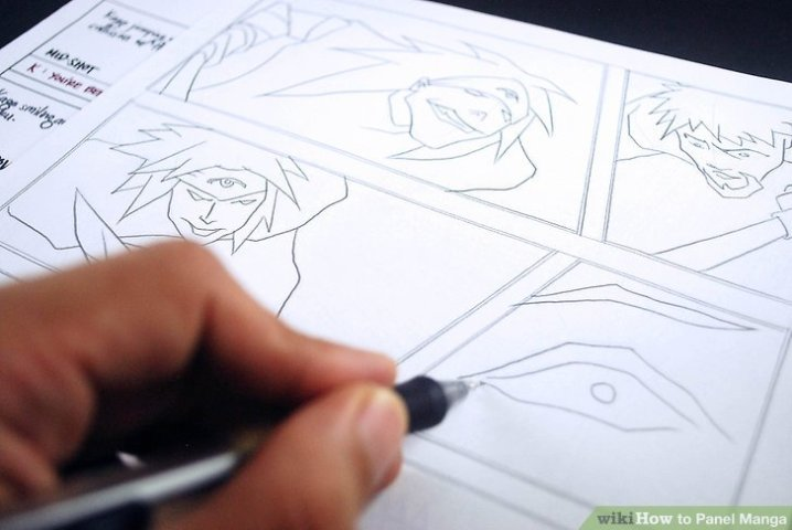 How to Panel Manga  4 Steps  with Pictures    wikiHow Image titled Panel Manga Step 3