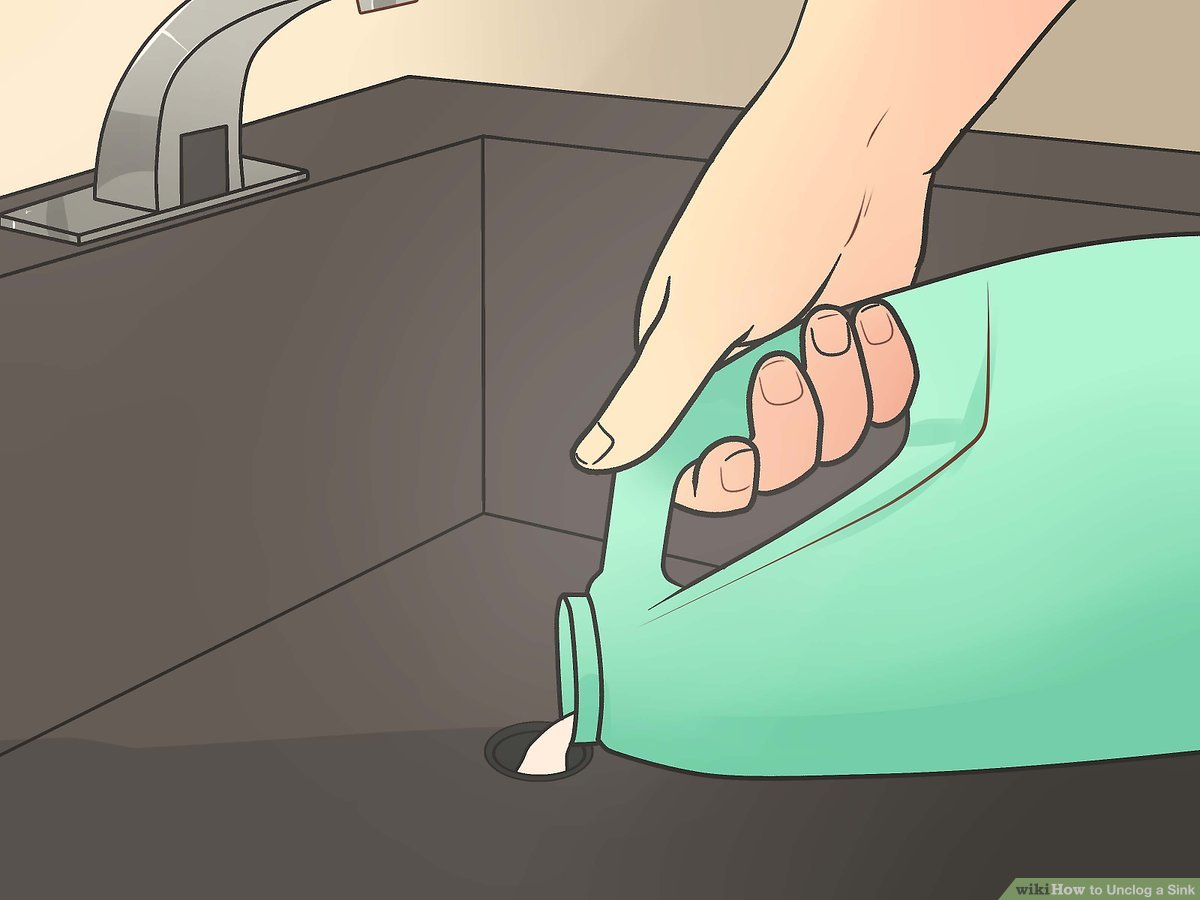 how to unclog a sink 10 steps with