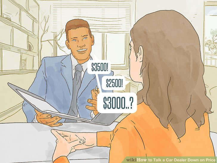 How to Talk a Car Dealer Down on Price