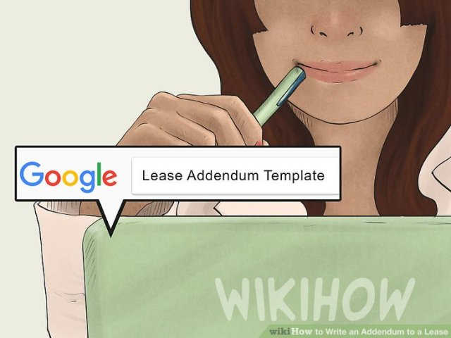 How to Write an Addendum to a Lease  with Sample Addendums  Image titled Write an Addendum to a Lease Step 5