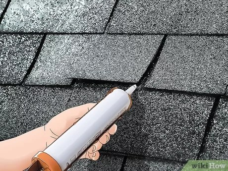 5 ways to repair a leaking roof wikihow