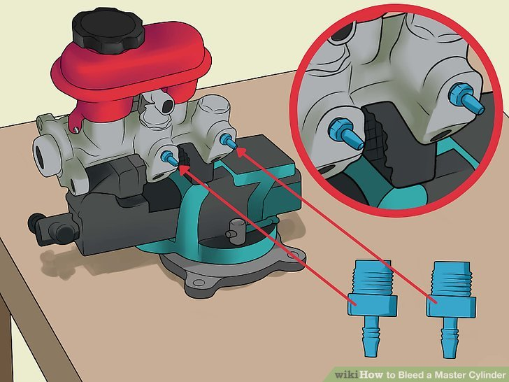 How To Bleed A Master Cylinder With Pictures Wikihow