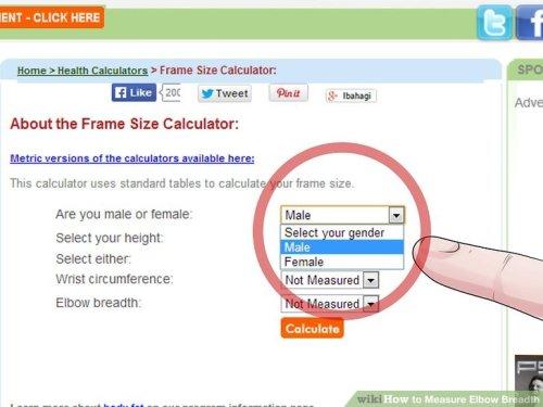 frame size calculator wrist | lajulak.org