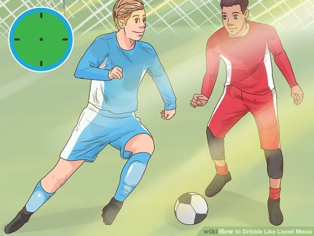Image titled Dribble Like Lionel Messi Step 6