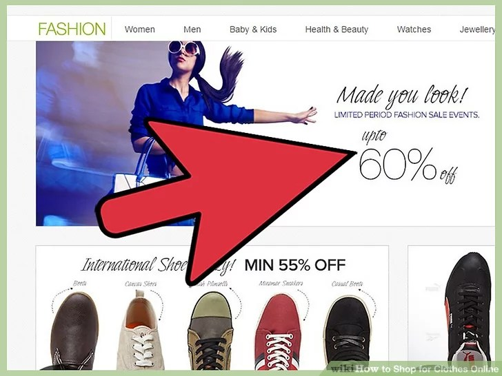 Image titled Shop for Clothes Online Step 8